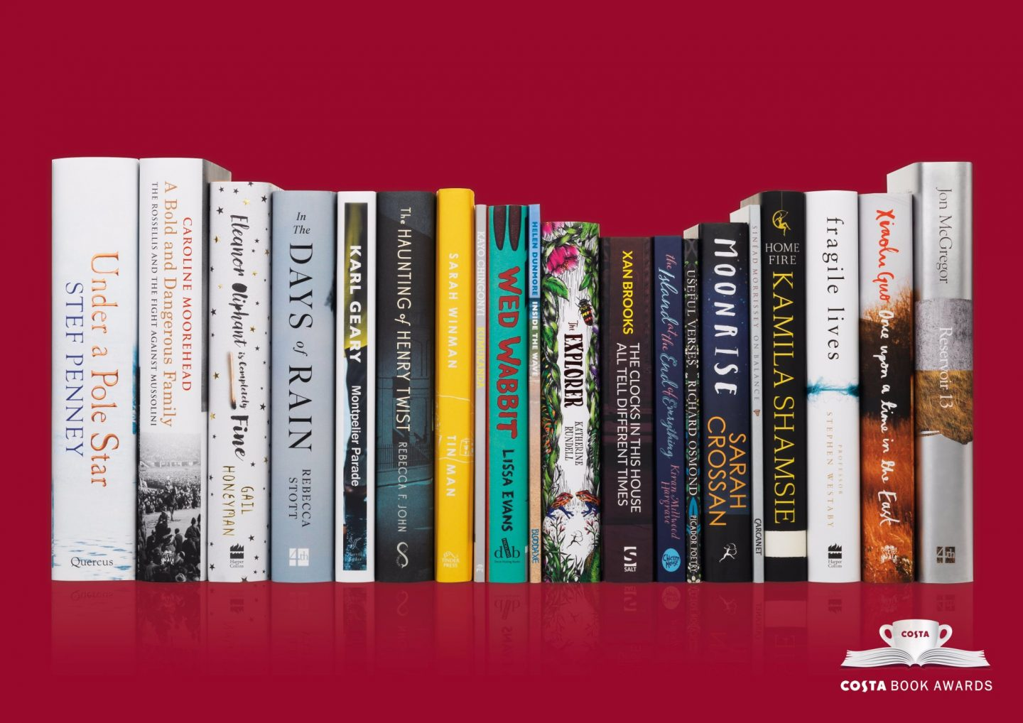 The Costa Book Awards Shortlist & an Exciting Announcement