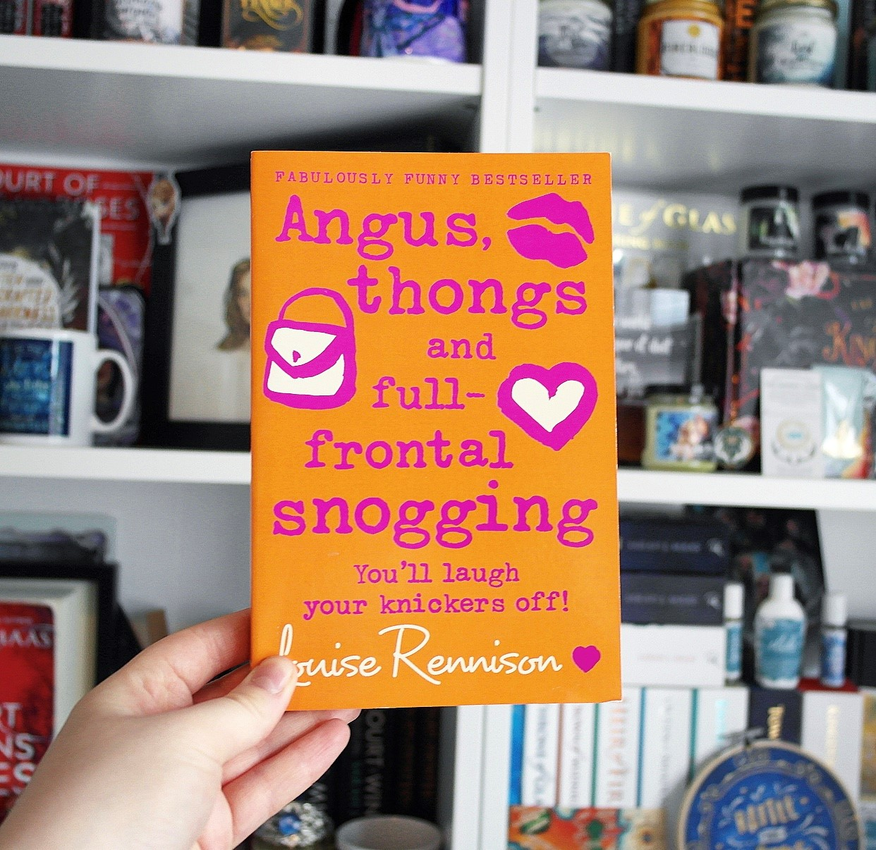 Angus, Thongs and Full Frontal Snogging by Louise Rennison.