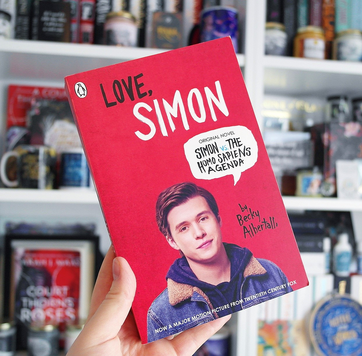 The fourth YA contemporary book recommendation,the book Love, Simon by Becky Albertalli.