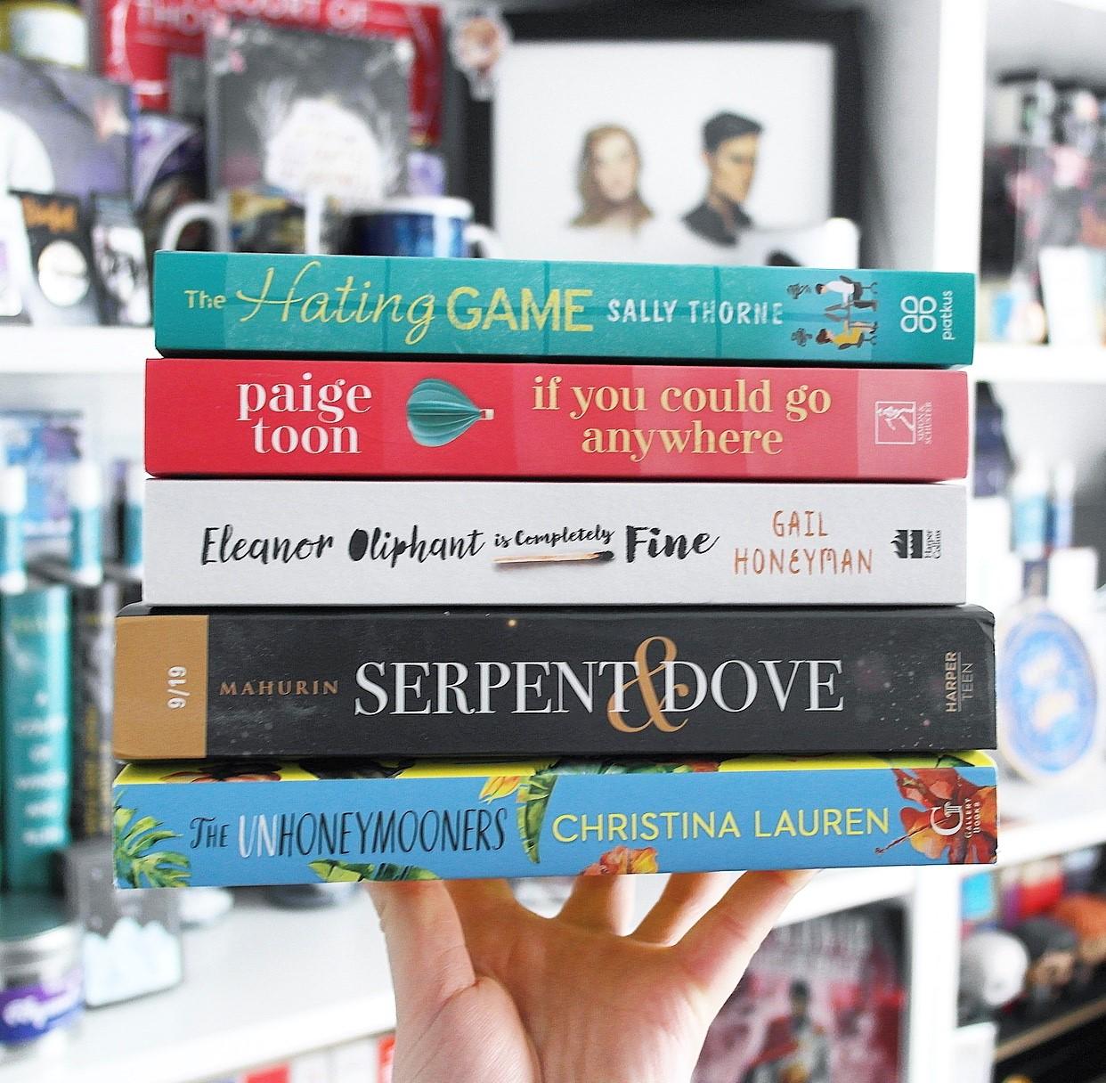 My six summer reads!