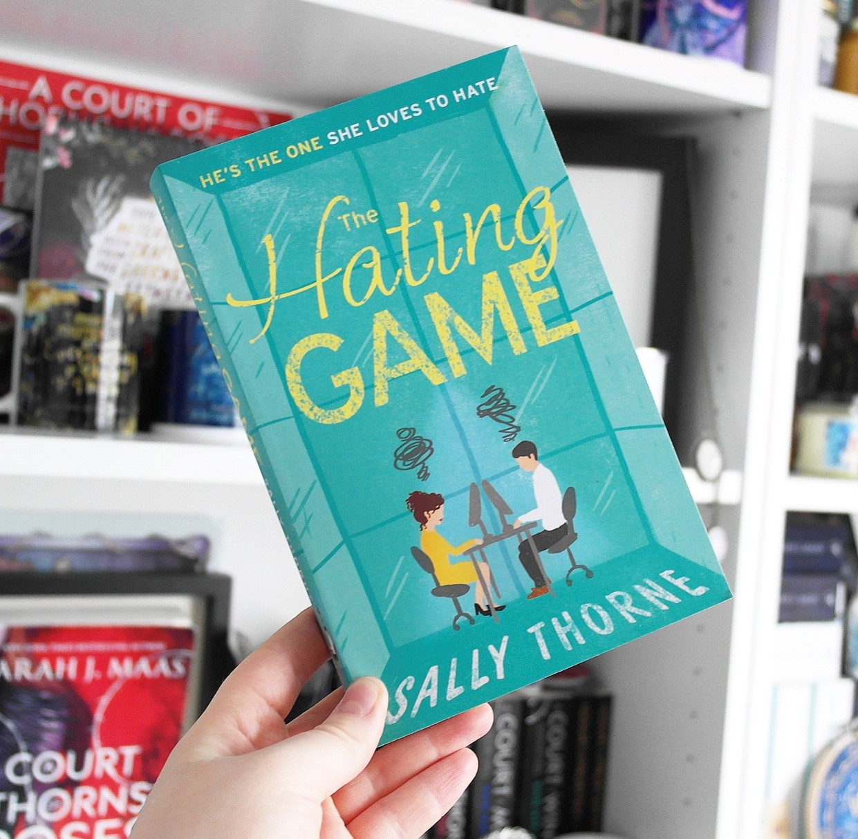 The Hating Game by Sally Thorne.