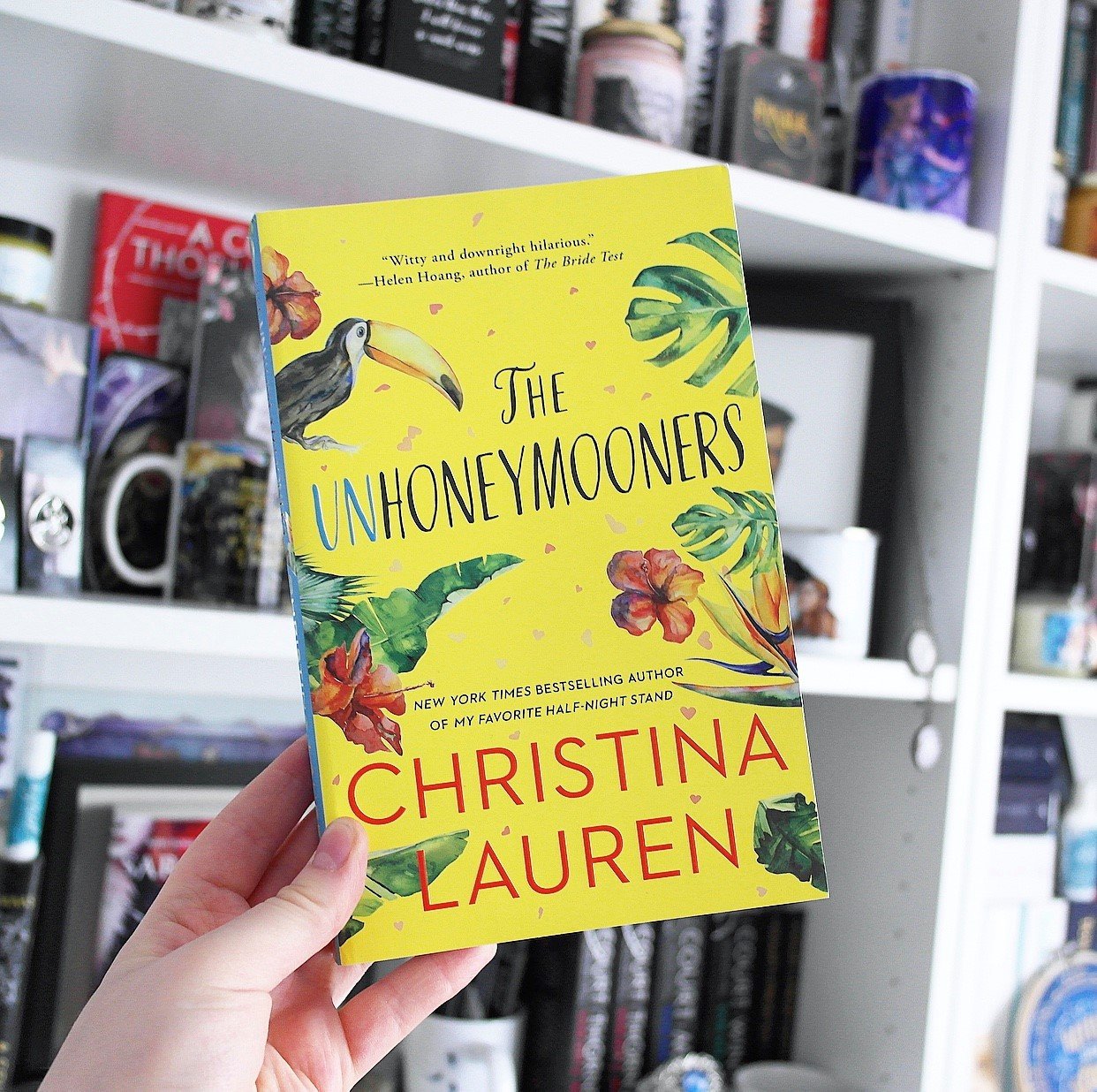 The Unhoneymooners by Christina Lauren, one of my six summer reads.
