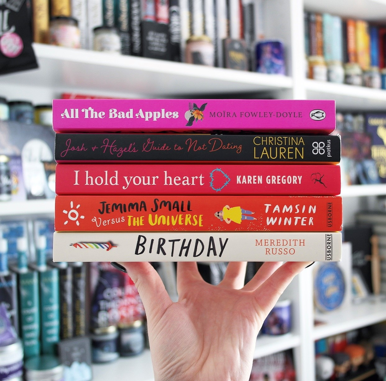 YALC book haul - The first lot of finished copies I bought/got at YALC