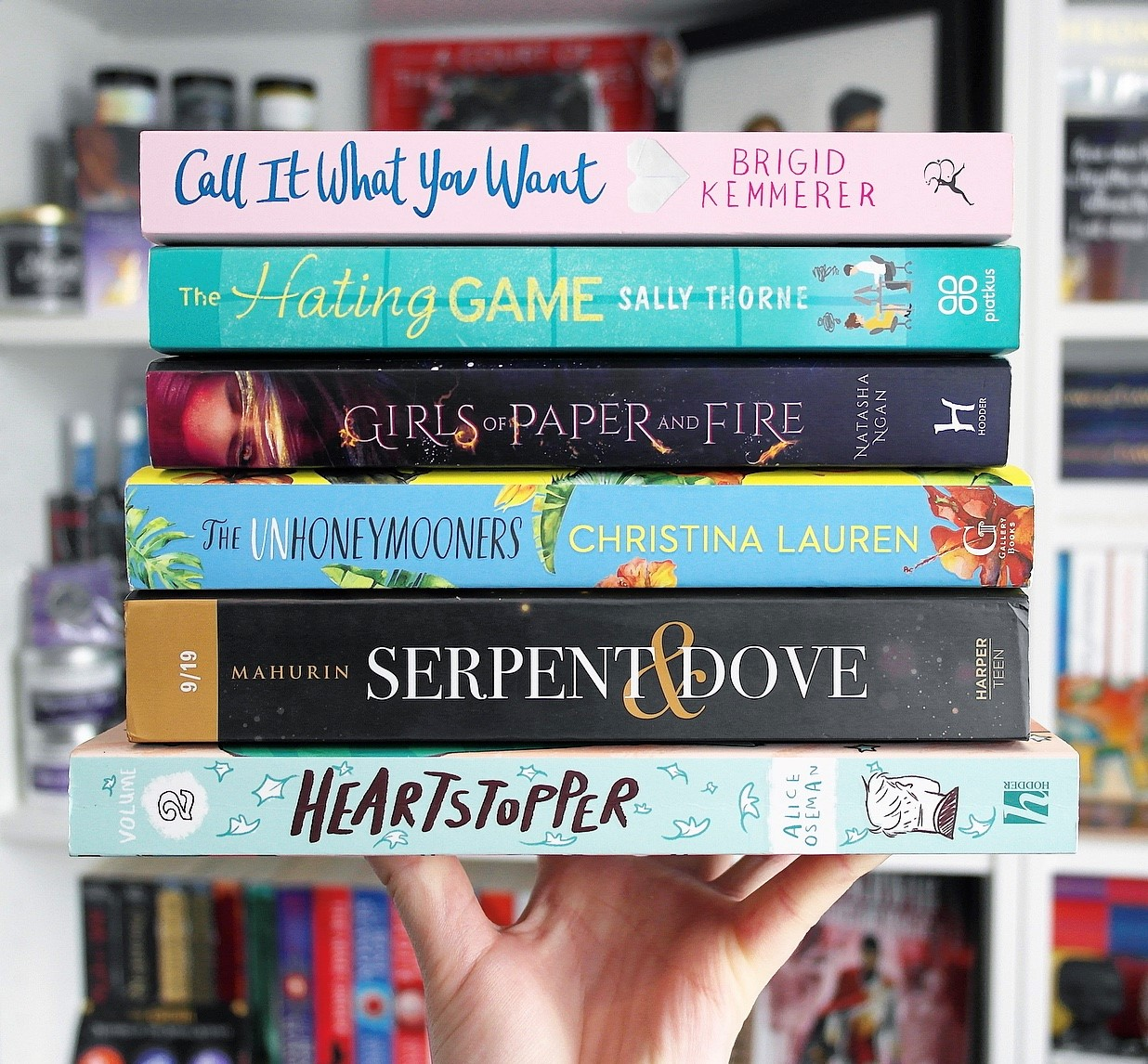 All of the books in my July reading wrap up.