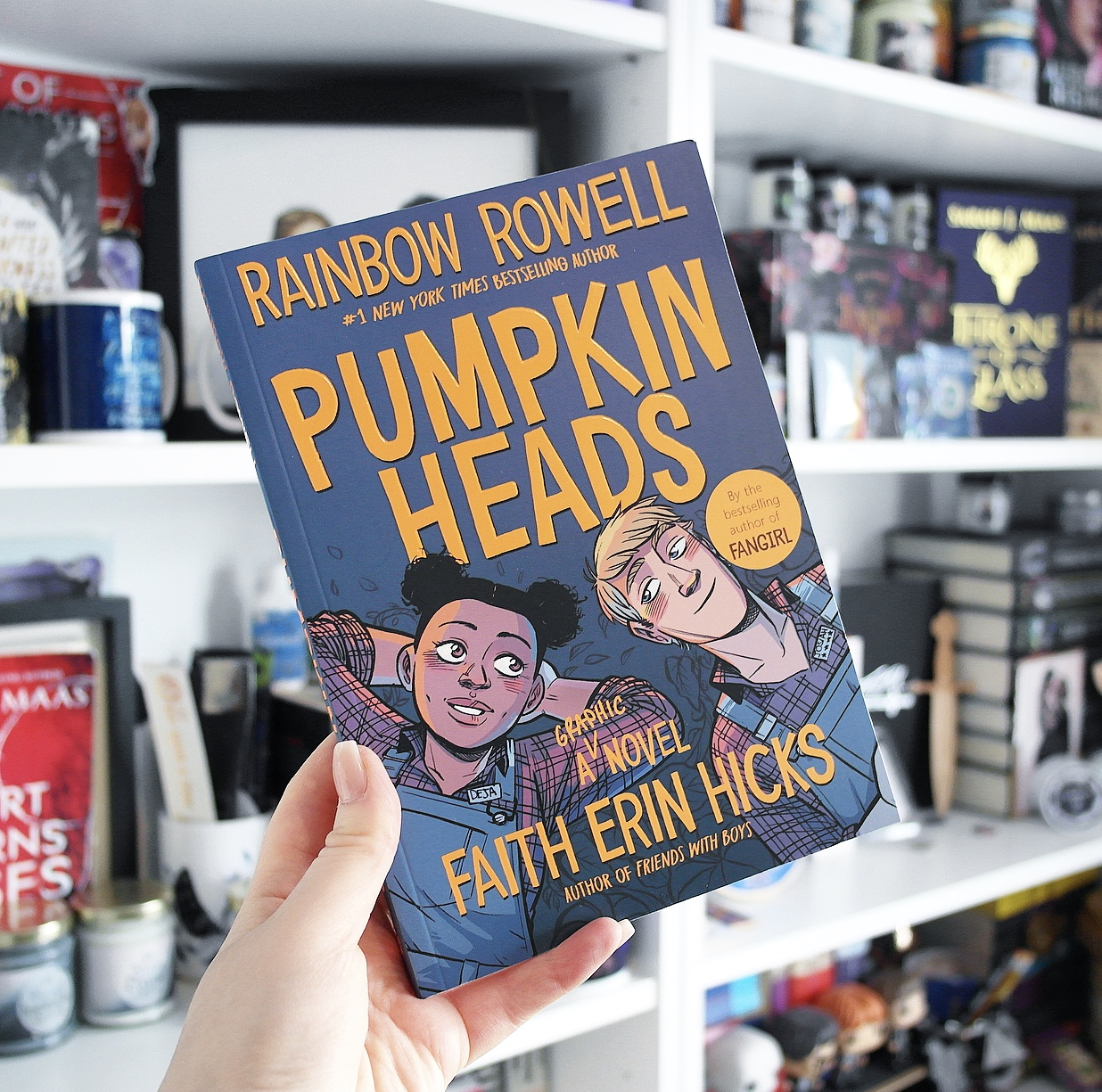Non-Spoiler Review: Pumpkinheads by Rainbow Rowell and Faith Erin Hicks