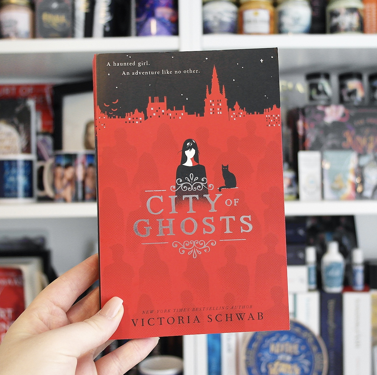Non-Spoiler Review: City of Ghosts by Victoria Schwab