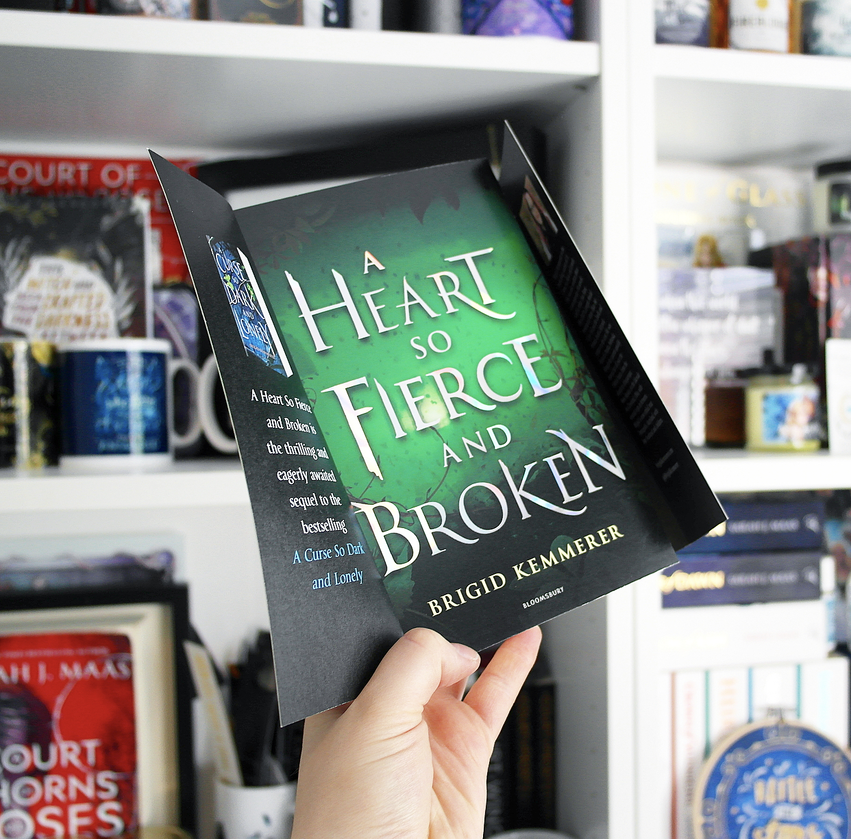 Non Spoiler Review: A Heart So Fierce and Broken by Brigid Kemmerer
