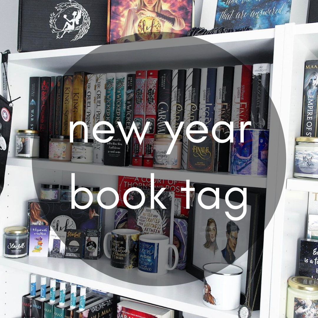 The New Year Book Tag