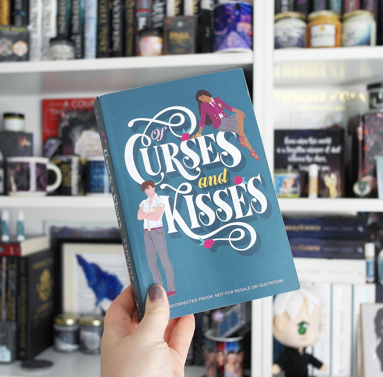Review of Of Curses and Kisses by Sandhya Menon
