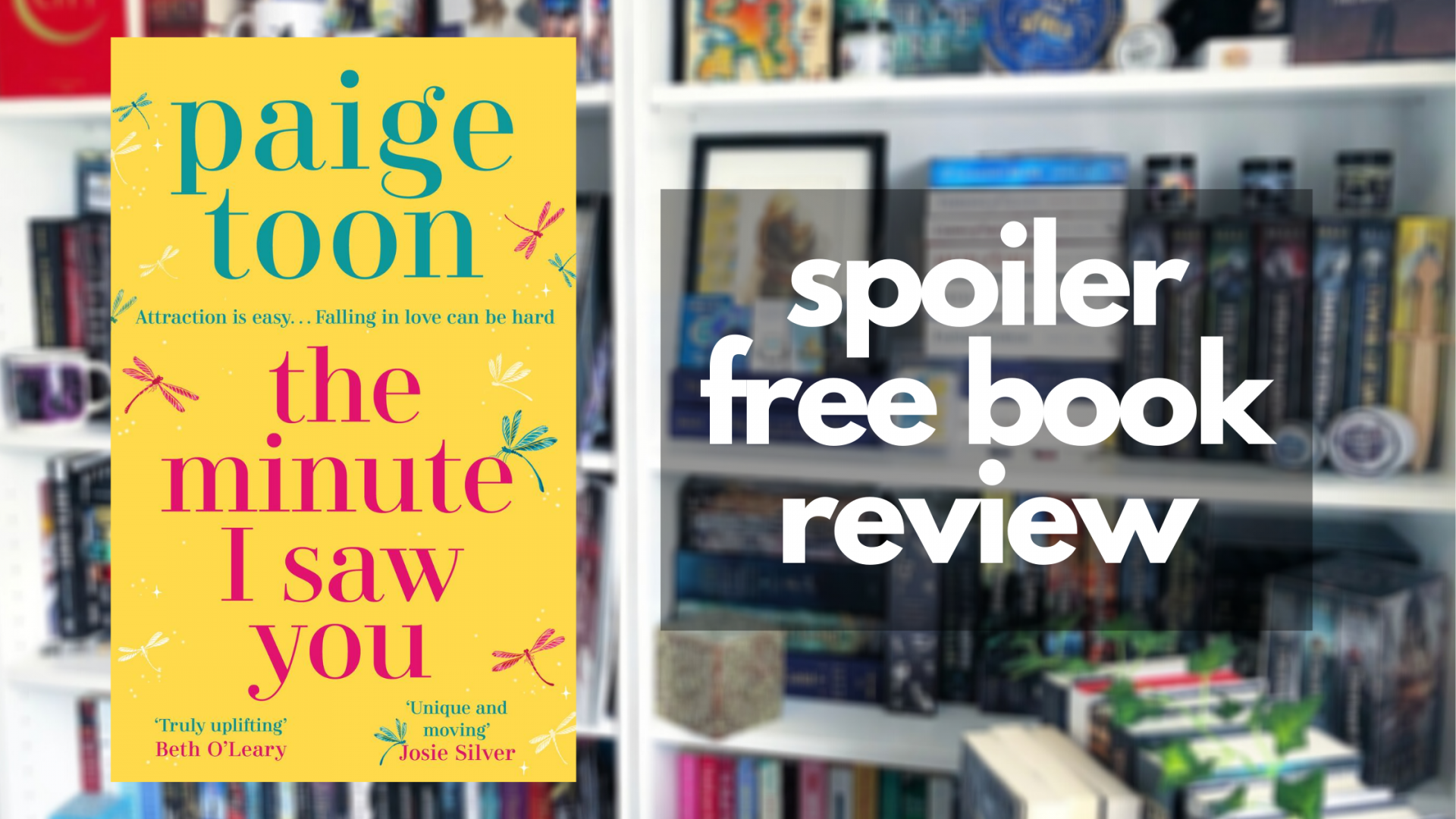 Review of The Minute I Saw You by Paige Toon