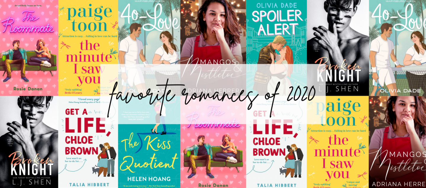 favourite romance reads of 2020