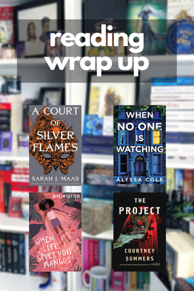 February Wrap Up Graphic
