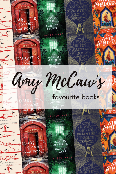 Amy McCaw's 10 favourite books