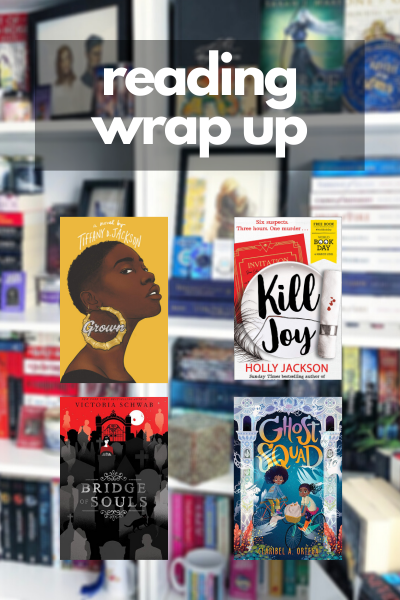 March Wrap Up graphic