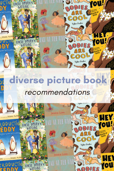 Diverse Picture Book Recommendations Graphic