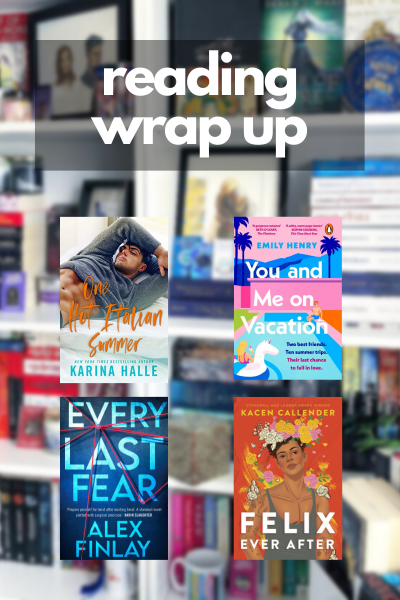 Reading Wrap Up Graphic